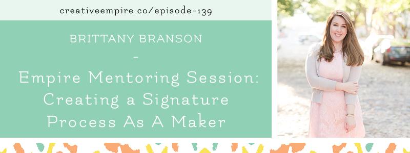 Email Header | Episode 139 | Brittany Branson