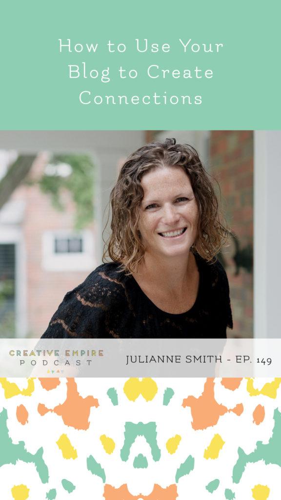 Instagram Story | Episode 149 | Julianne Smith