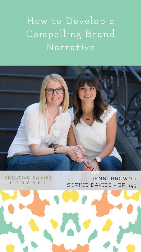 Instagram Story | Episode 143 | Jennie Brown & Sophie Davies