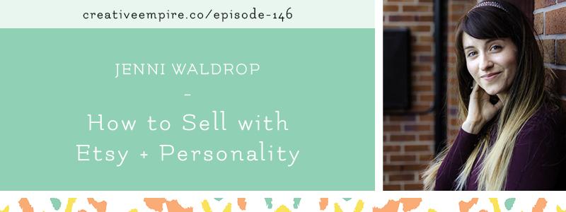 Email Header | Episode 146 | Jennie Waldrop