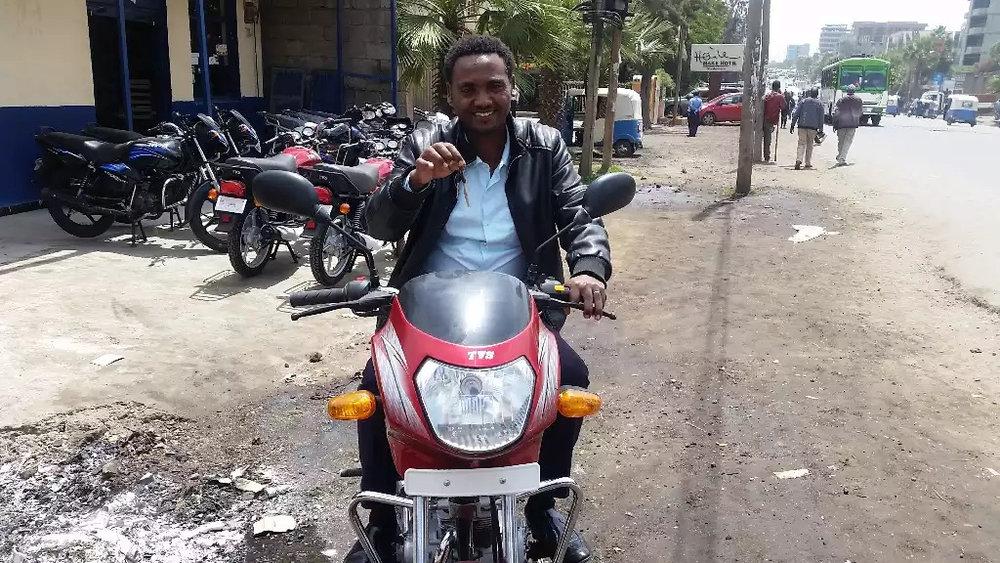 Motorcycle - $1,500 Kenya$3,500 Ethiopia