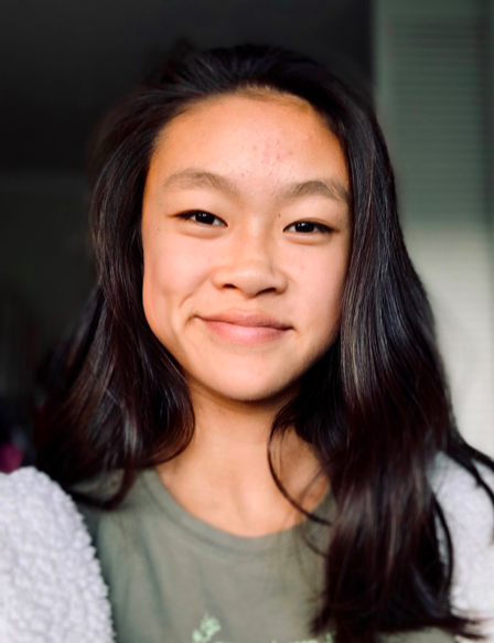 May Jiang   Los Altos High School (California)    May is 15 years old and a sophomore at Los Altos High School. She has a passion for STEM and hopes to pursue a career in the field, especially in biology. She is the president of the Women in STEM club at her school, and does various activities with them, such as volunteer at schools to help encourage girls to pursue STEM careers. Besides STEM, May is also on her school's varsity water polo team, tutors math, and volunteers to help the environment. She likes to spend time with family, and has various hobbies, such as drawing and baking.