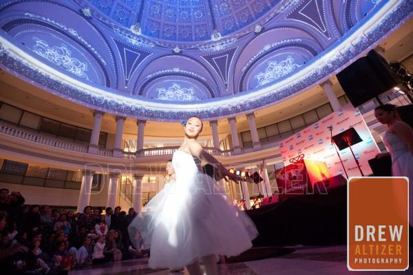 Ballerina from the Nutcracker at the Westfield Mall Dome