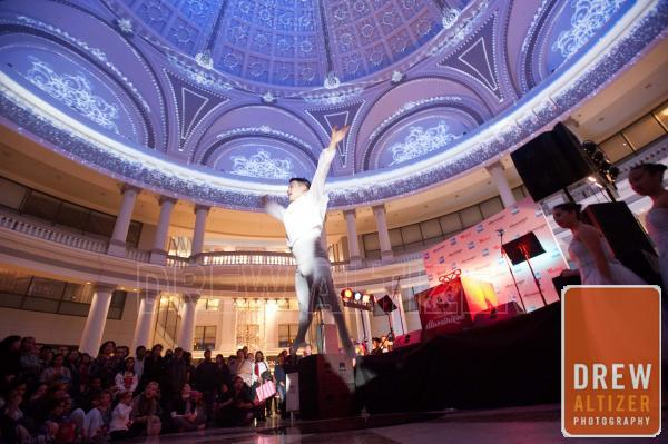 Ballet Dancer from the Nutcracker at the Westfield Center Dome