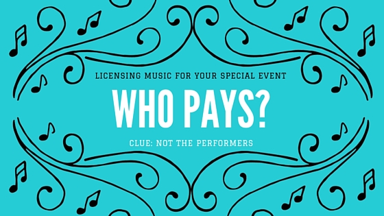 Licensing and Paying for Music Performances for Private