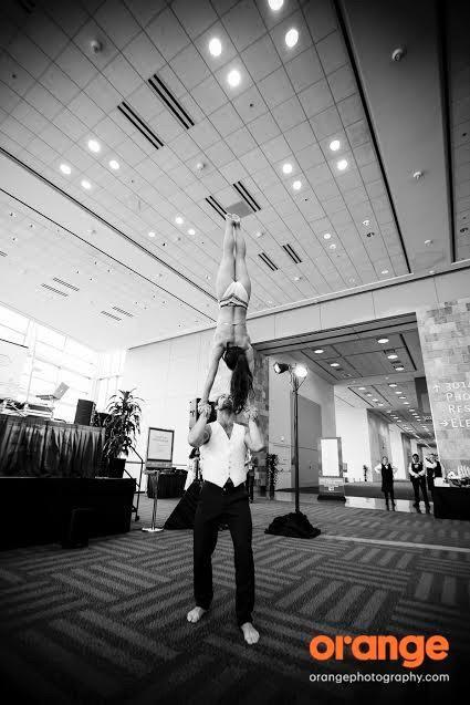 Adagio Hand Balancing Duo