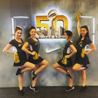 We supplied our client Aramark with four delightful and peppy cheerleaders to welcome guests to the NFL Store at Moscone Center in San Francisco.