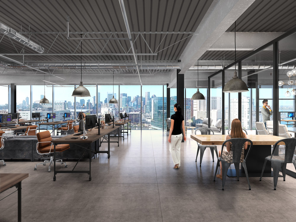 Flexible, light-filled workspaces that inspire