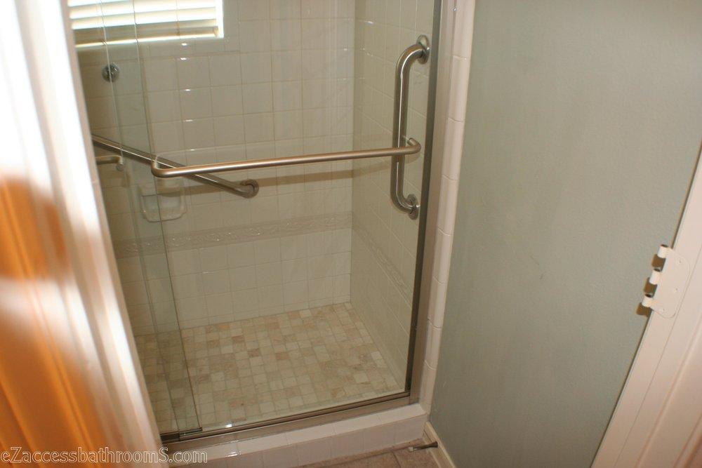 Budget tub to shower conversion ezaccessbathrooms.com 8322028473 008.JPG