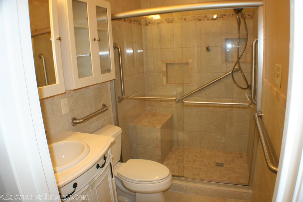 SENIOR-FRIENDLY BATHROOM REMODELING
