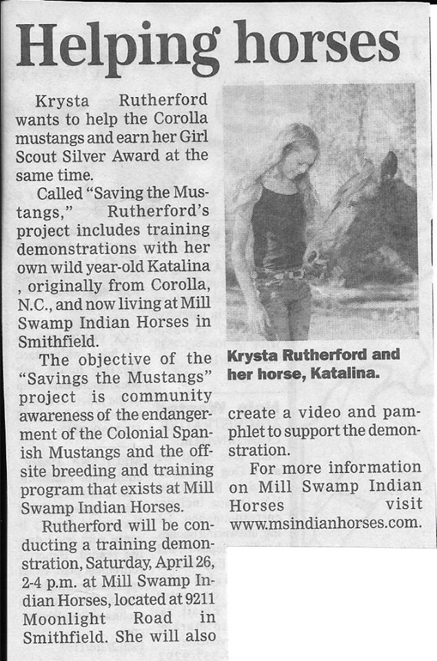 Smithfield Times Krysta - Helping Horses.jpg