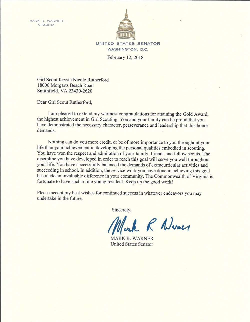 Letter from Senator Mark Warner.jpg
