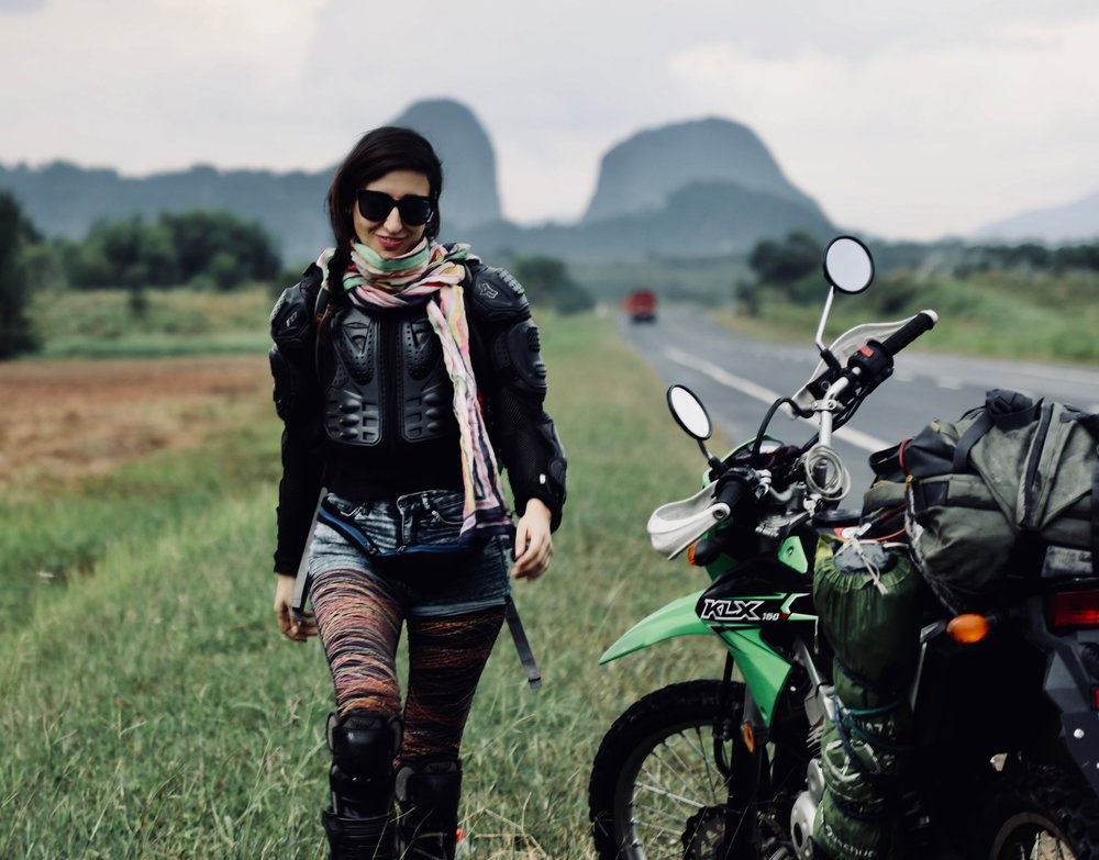 Natalia - DIRECTOR OF MOTOSOULS /OVERLANDER/ ENGINEER/ TRAVEL DESIGNER