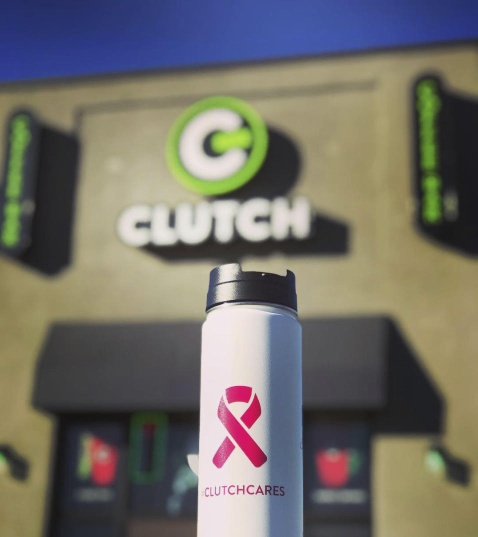 Susan G Komen Foundation: $350 donated!   In honor of Breast Cancer Awareness month, we created and sold Breast Cancer themed mugs at our Clutch Coffee Bar locations. A portion of the proceeds were donated to the Susan G. Komen foundation!   Keep the good vibes goin' and   click here to support @susangkomen .