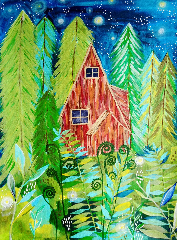 Lauren Younis_Washington State Cabin.JPG