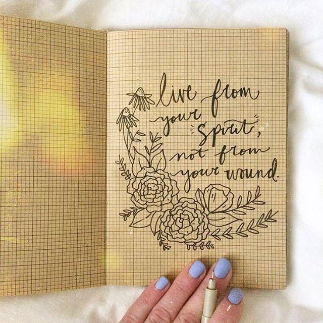 A reminder worth sharing ✨🙌🏽😘 #sketchbook #sketchbookscenes #artists #draw #artistsofinstagram #inspiremyinstagram #magicmoments #journaling #morningthoughts
