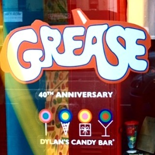 Grease is a best seller. Amazing songs people love! It's the 40th anniversary and even @dylanscandybar is getting sweet about it. Checkout stage-stars.com to order the accompaniment music! ❤️#stagestars #broadway #grease @gogrease #broadwaymusicals #musicals #timessquare #newyork #follow #wickedthemusical #october #tbt #thursday #40th #anniversary #onbroadway #accompaniment #johntravolta #greaselightning #olivianewtonjohn