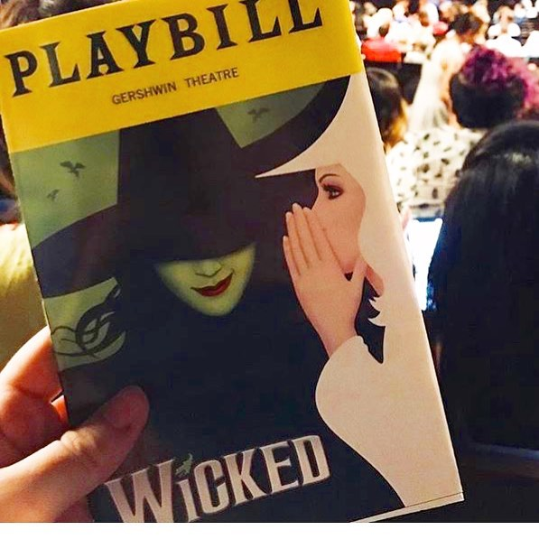 One of the longest running musicals! @wicked_musical @wicked_worldwide @wickedinternational #musicals #accompaniment #music #musicians #broadway #newyork #NYC #playbill #october #spooky #singers #audition #auditionsong #NY #NYC #halloween #wickedmusical