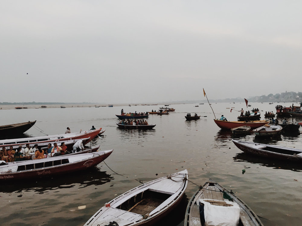The Ganges, Varanasi in a photoessay