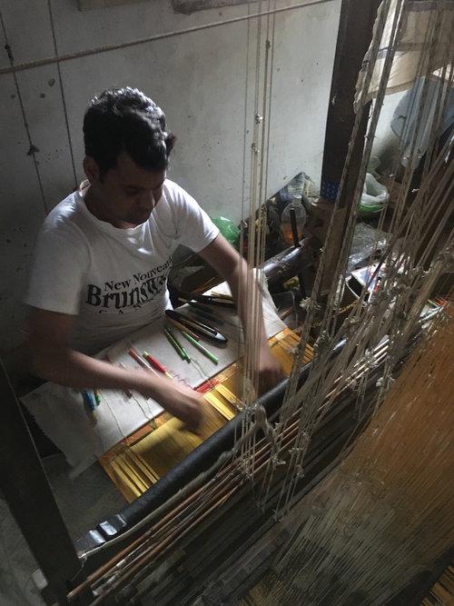 Textile Trip to Benaras