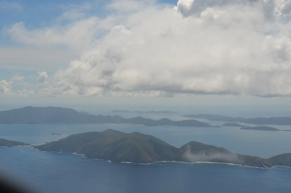Approaching St. Thomas - British Virgin Islands