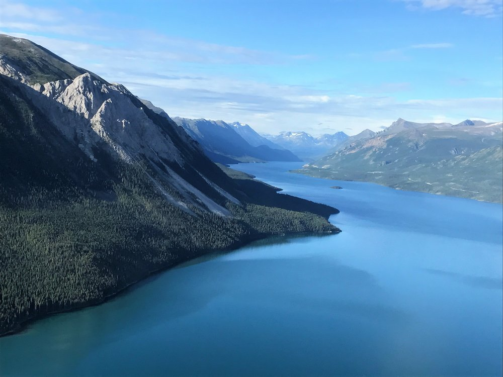 Taggish Lake (B. C. - Yukon line)