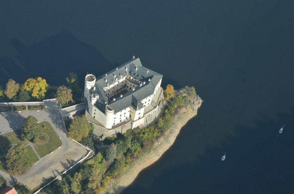 Castles on Vltava River -