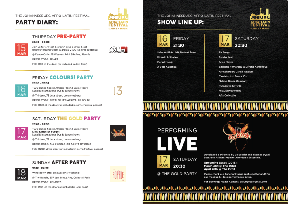 parties and shows