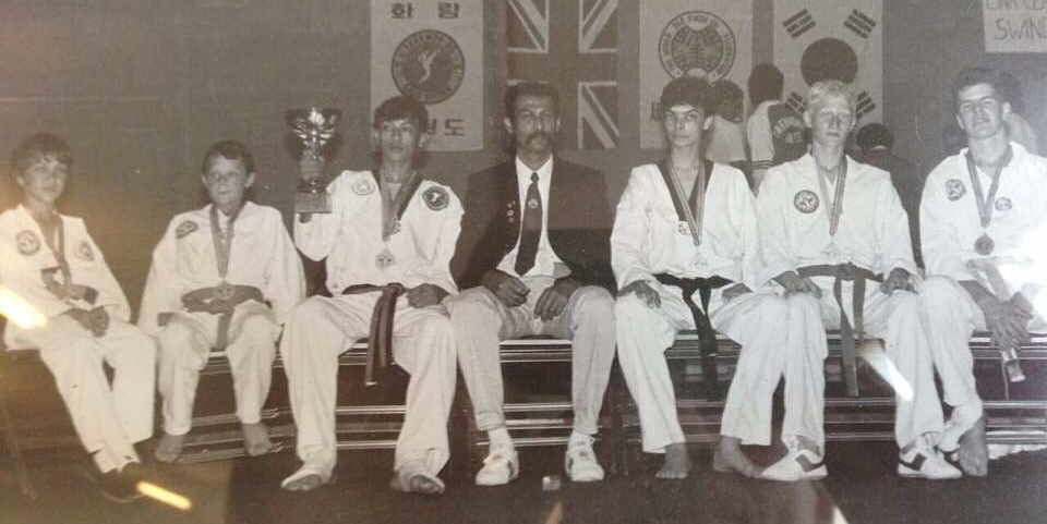 Master Foran - second from right in 1988