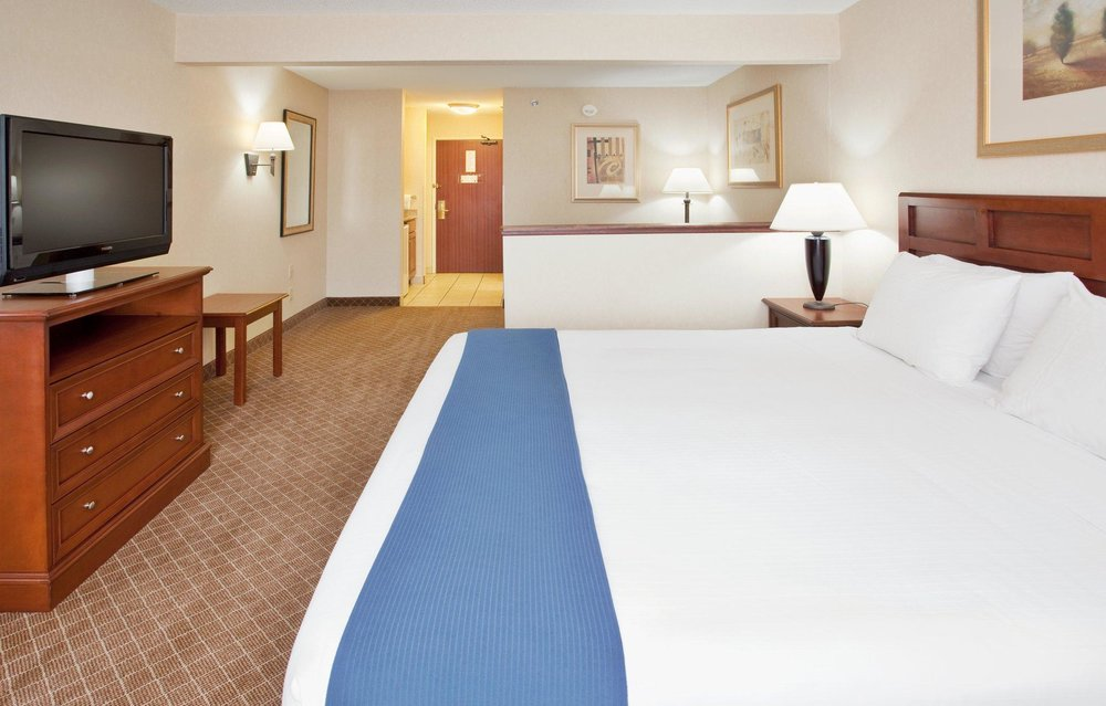Clean, comfortable guest rooms