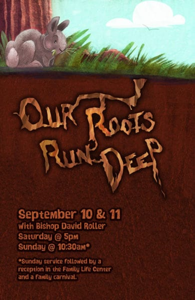 """Our Roots Run Deep"" Poster"