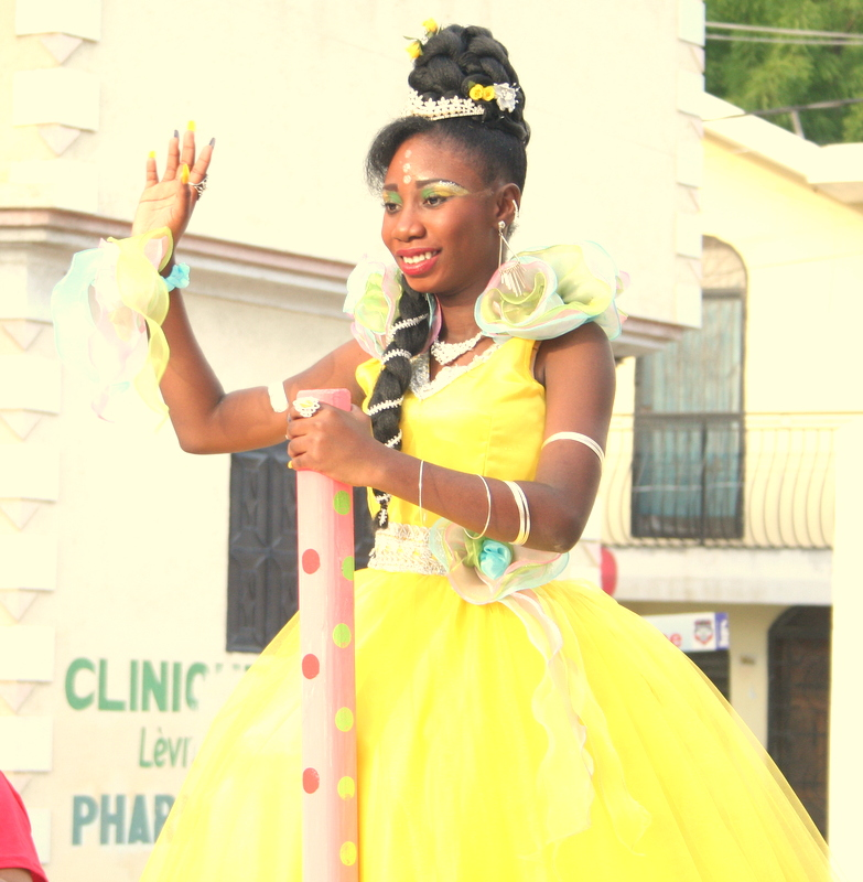 """It was an incredible honor to serve as Queen and the parade was the most beautiful day of my life. I'm grateful for all that I've achieved because of the PAZAPA School. I would not have gotten an education without PAZAPA.""   - 13 year-old Woodleyna Pierre, 2018 Carnival Queen, soccer star and accomplished student in the PAZAPA School for the Deaf"