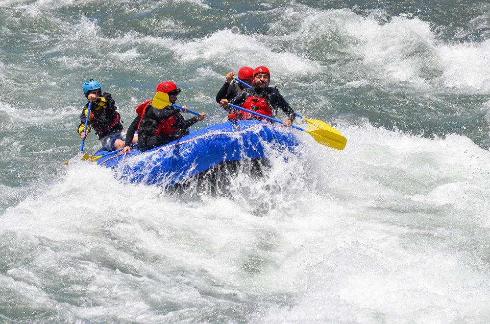 Rafting Río Ñuble Alto + Tansporte Concepcion