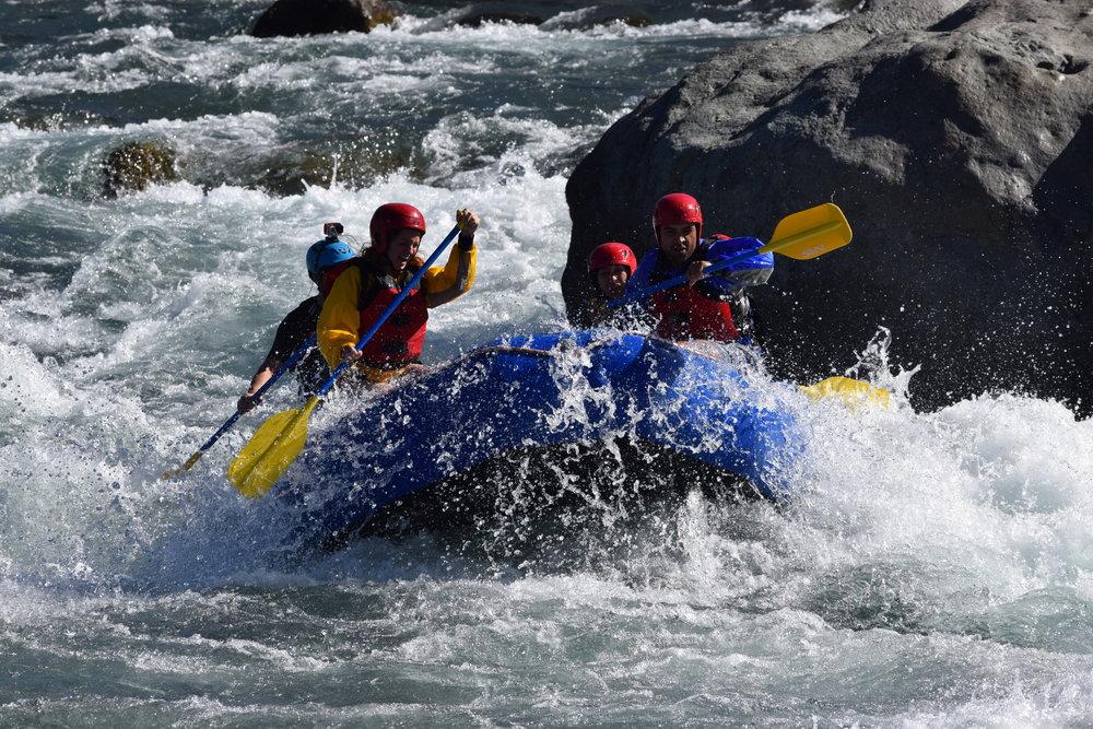 """Rafting Rio Ñuble - """"Rapido El Feo"""""""