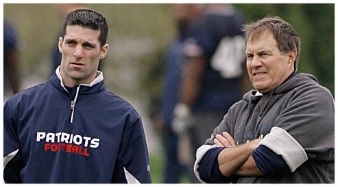 New England Patriots' Nick Caserio & Bill Belichick