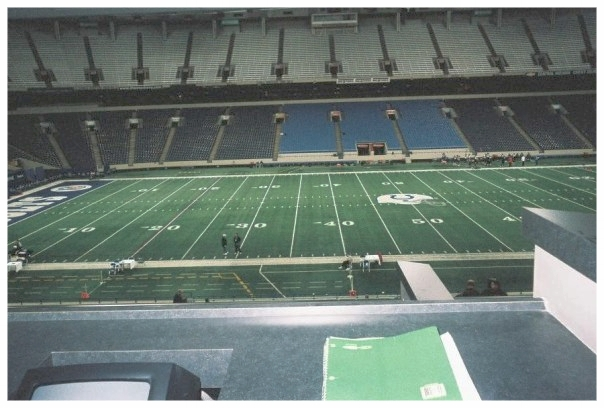 My first year at the Combine was the final year of the RCA Dome, 10-years ago in 2008