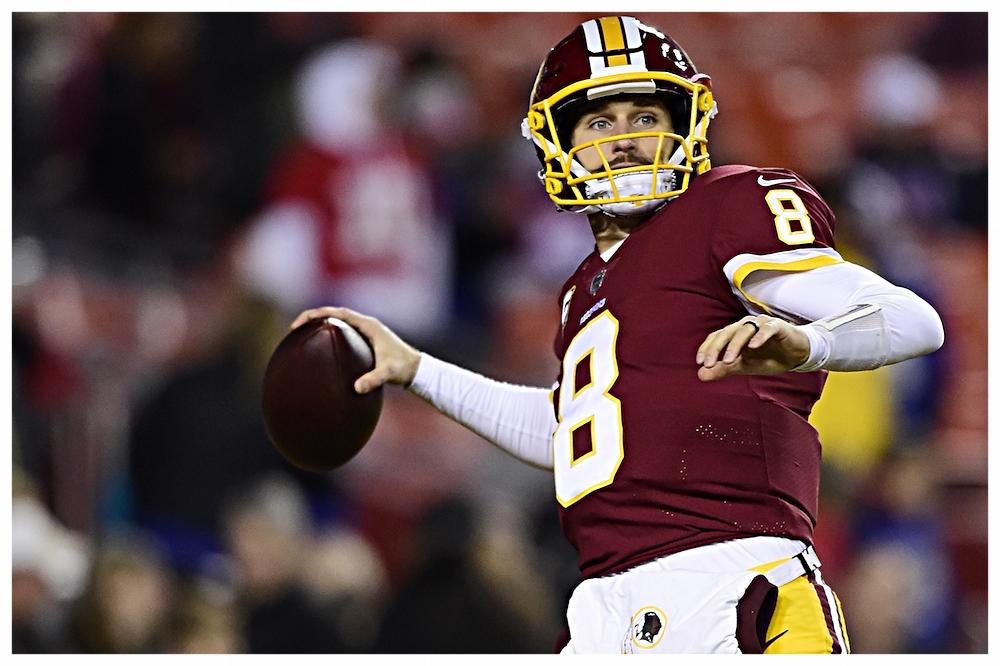 Free agent quarterback Kirk Cousins
