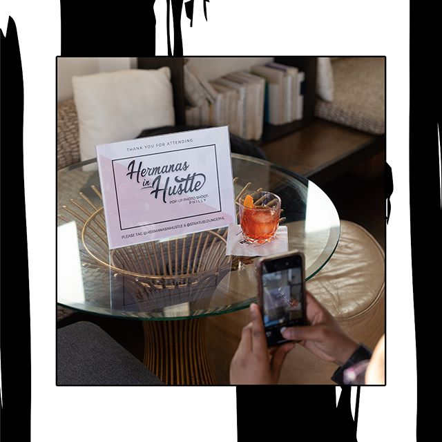 @HermanasinHustle is back with their monthly pop up photo series and debuted their new look for 2019 conceptualized by our creative team.  Special thanks to @stratusloungephl for hosting all of us ladies. Here's to a continued wave of women! — 📷 @dvvinci