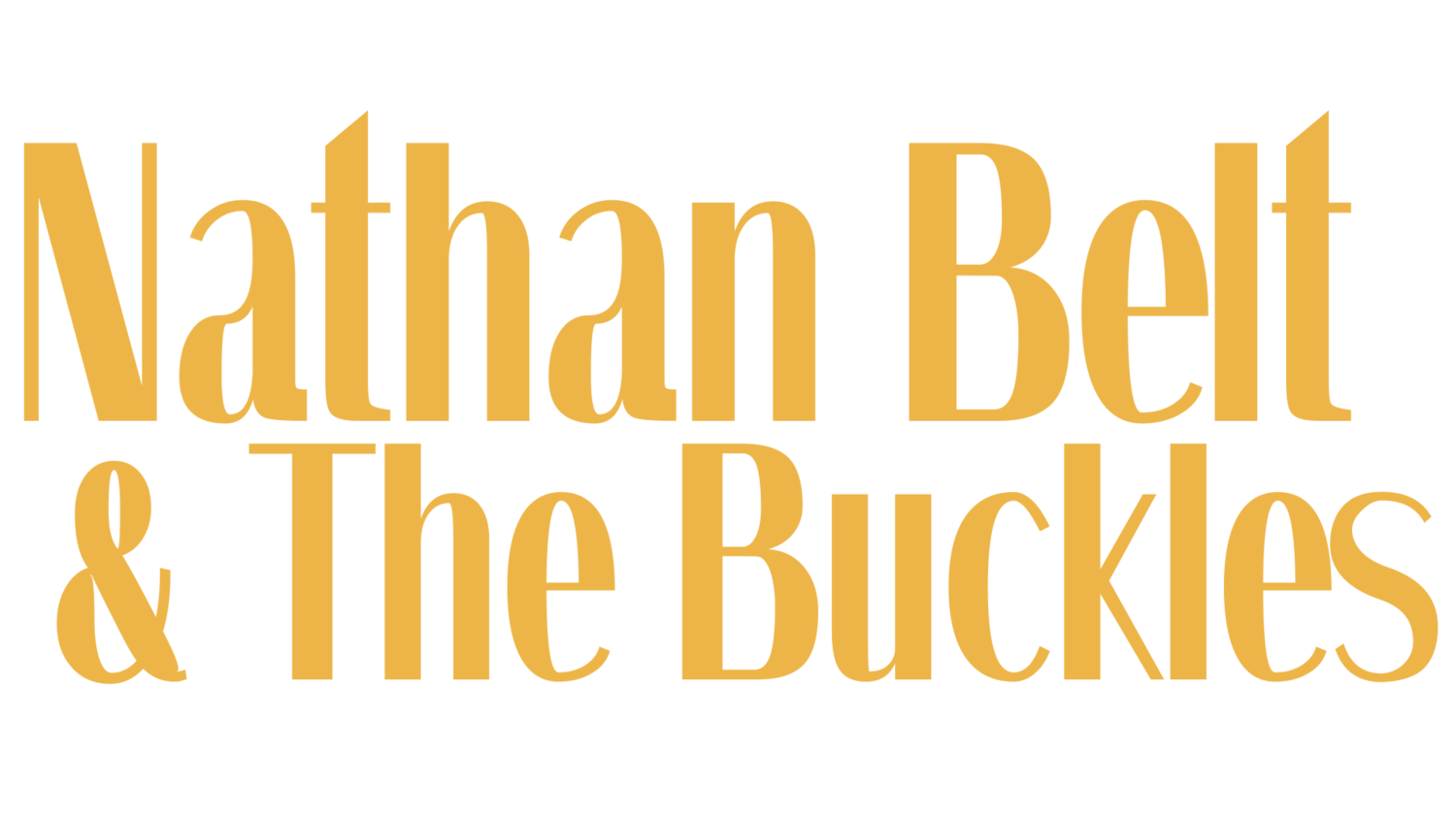 Nathan Belt & The Buckles
