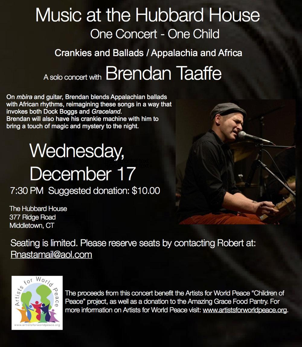 Brendan Taaffe:House Concert.jpg