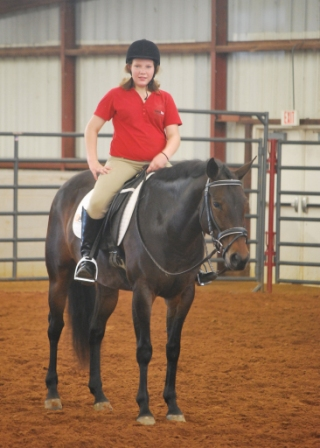 Faith at Lone Star 4H Show.JPG