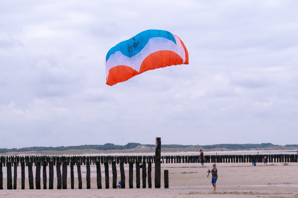 Beamer HQ4 power kite