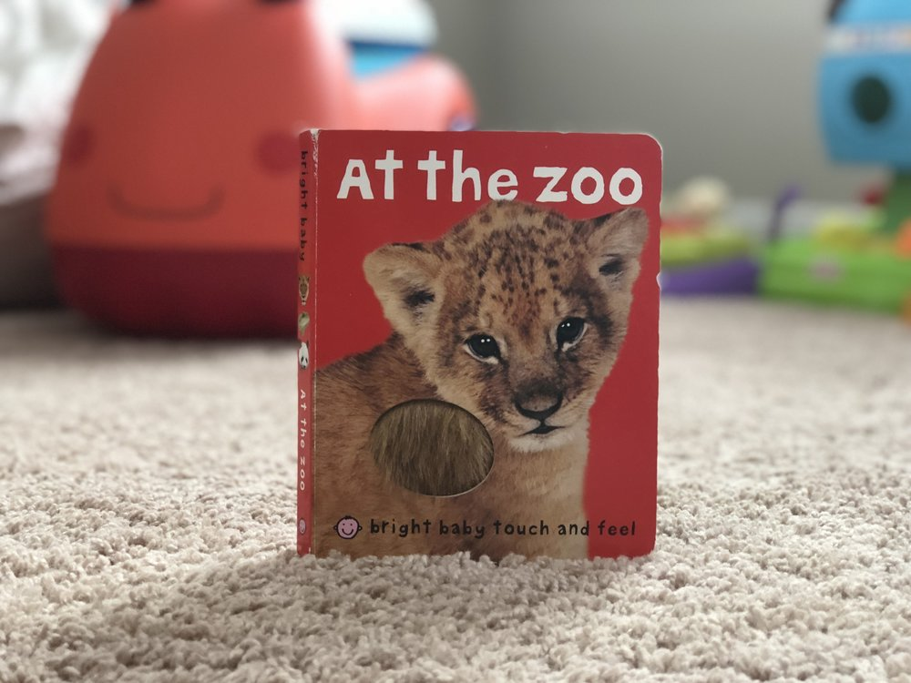 At the Zoo Touch and Feel Book