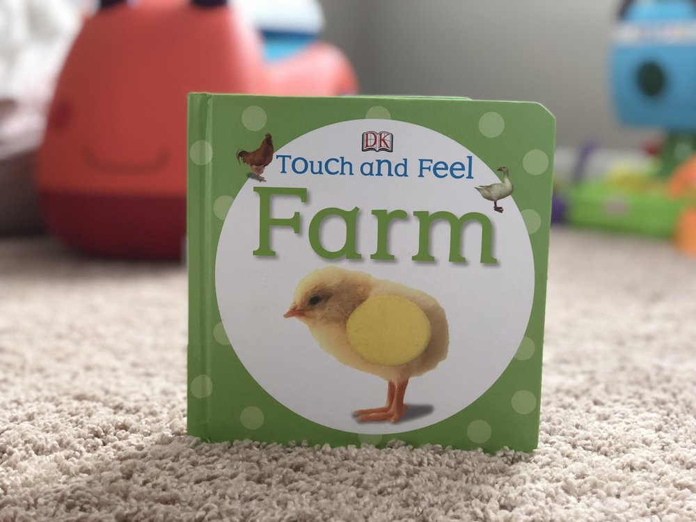 Baby touch and feel farm a touch and feel books