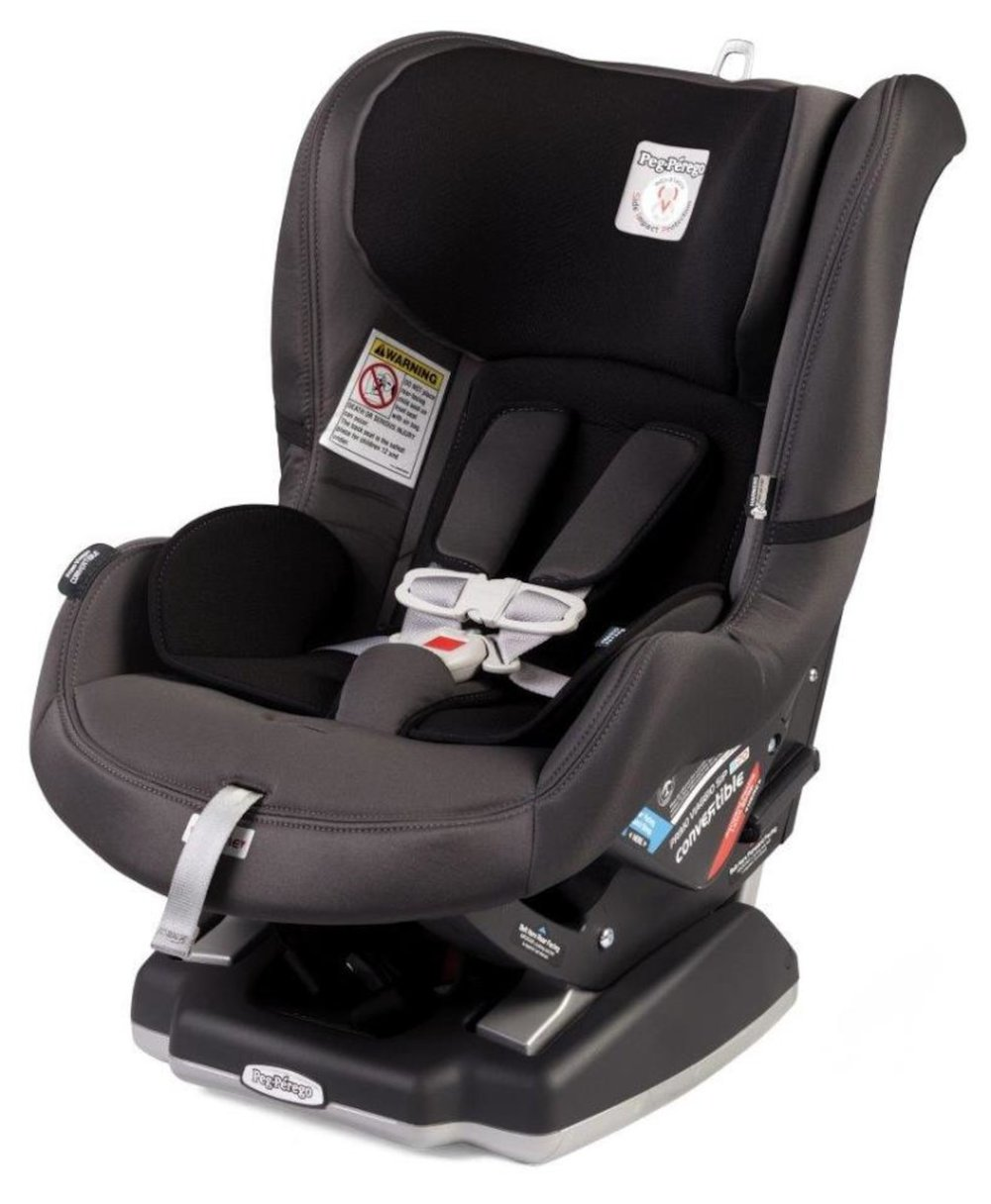 Peg Perego Leather  - themommyjackPeg perego leather. Bc it's stylish and looks like a part of the car. Easy to wipe.anamarie_mPeg Perego!! Amazing safety ratings and made in Italy ❤️, All 3 of our kids use from infant to convertible 😊