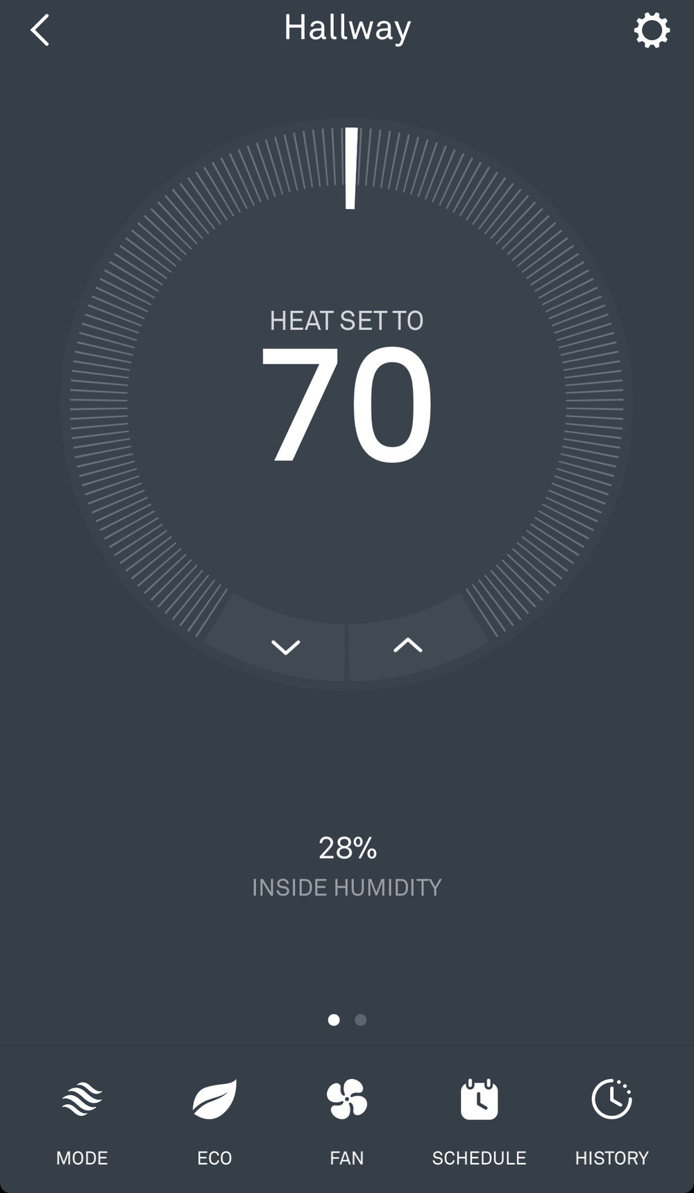 Nest Thermostat App Humidity