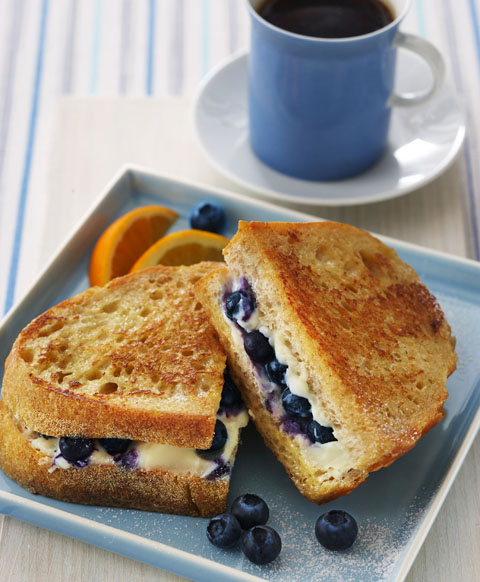 Blueberry French Toast Sanwhich