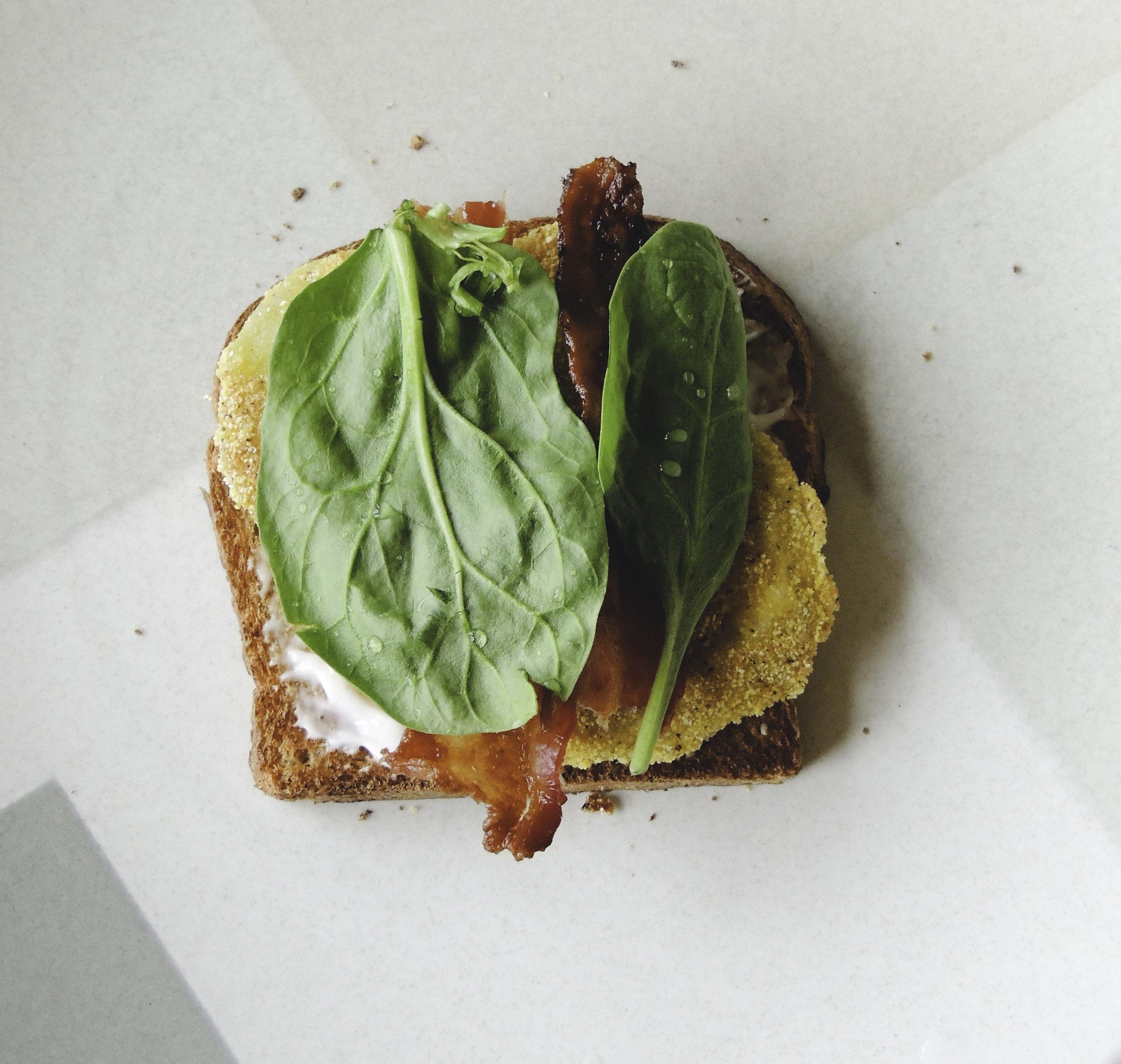 Fried Green BLT