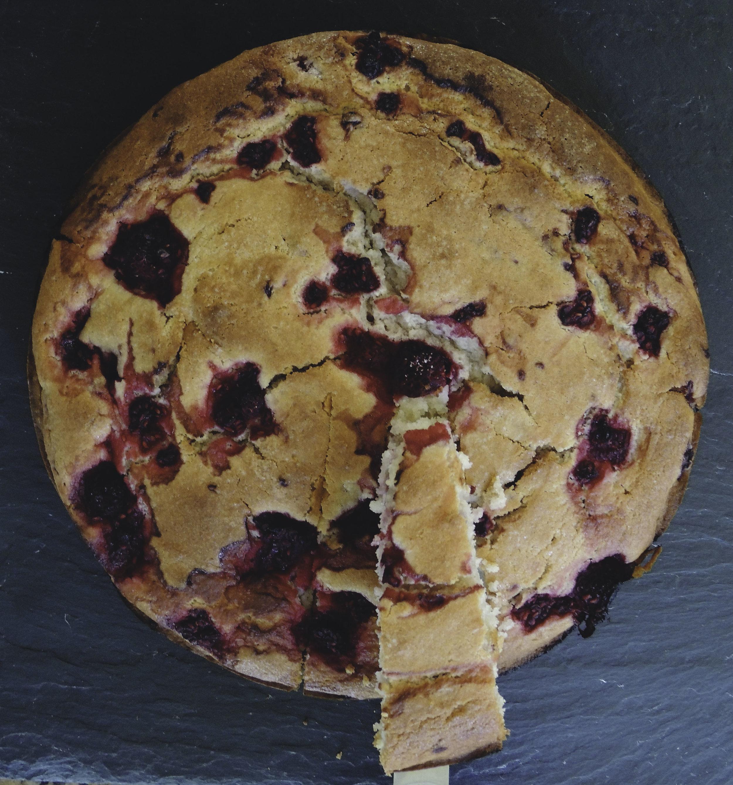 rasp ricotta cake 1