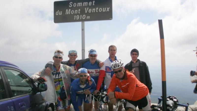 2007 - Summit of Mont Ventoux, France; 2007-09-10